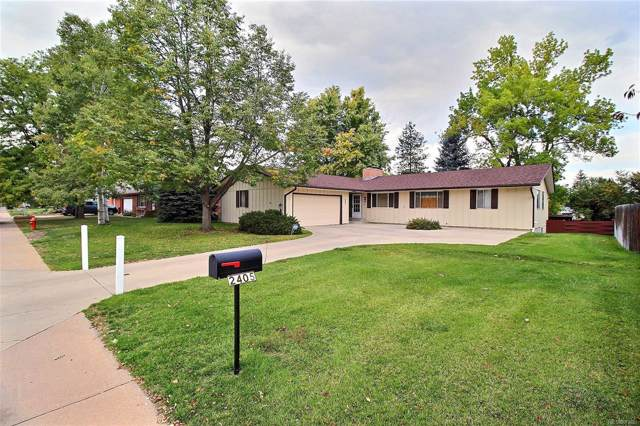 2405 W 20th Street Road, Greeley, CO 80634 (#3672593) :: The Heyl Group at Keller Williams