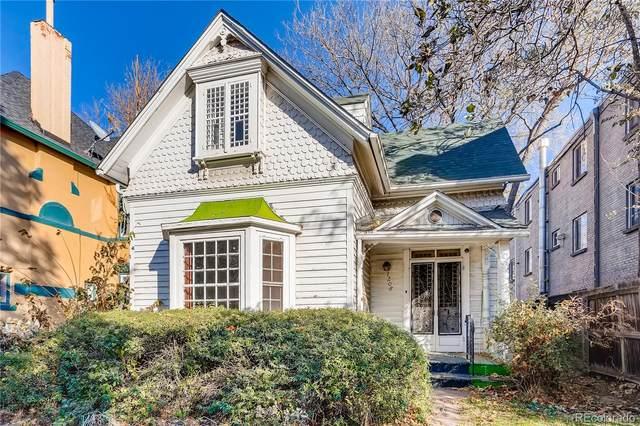 1208 N Logan Street, Denver, CO 80203 (#3673597) :: Briggs American Properties