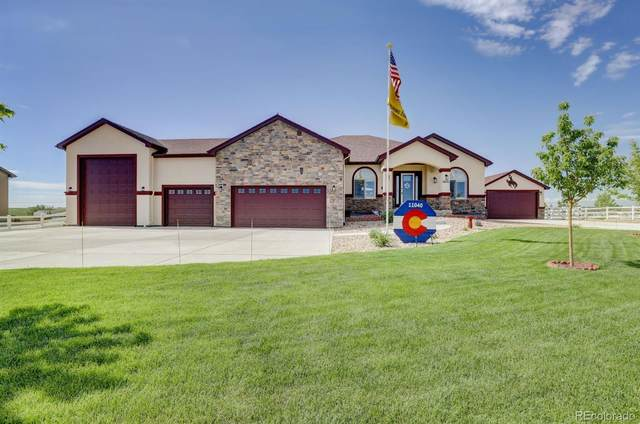 11040 E 161st Avenue, Brighton, CO 80602 (#3675253) :: Berkshire Hathaway HomeServices Innovative Real Estate