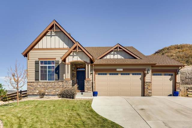 2065 Sage Grouse Way, Castle Rock, CO 80109 (#3675422) :: Mile High Luxury Real Estate