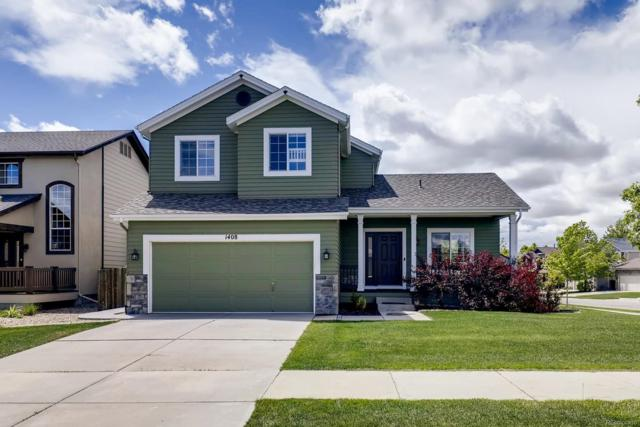 1408 Leyner Drive, Erie, CO 80516 (#3678084) :: House Hunters Colorado