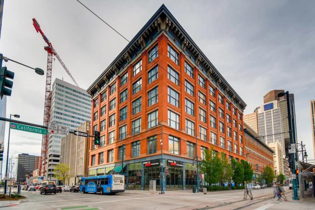 1555 California Street #507, Denver, CO 80202 (#3678199) :: The Heyl Group at Keller Williams