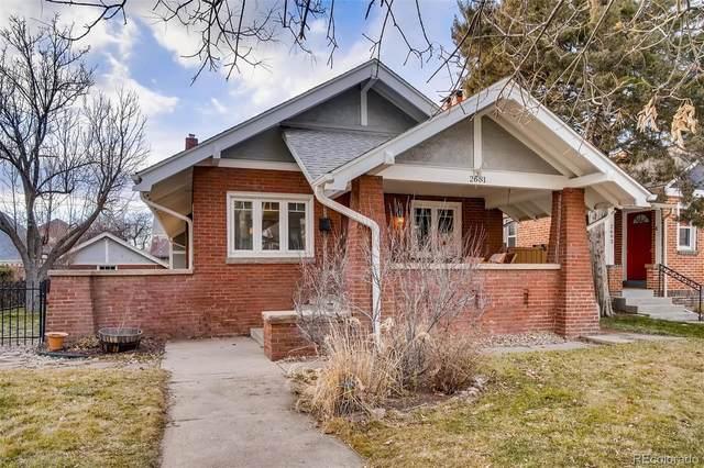2681 Cherry Street, Denver, CO 80207 (#3680586) :: The Dixon Group