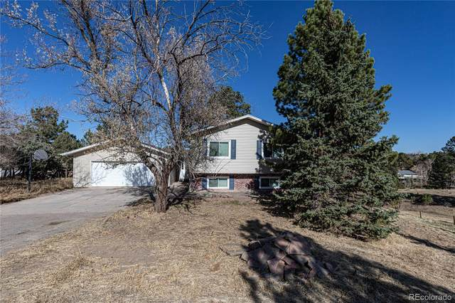 10521 Black Forest Drive, Parker, CO 80138 (#3681786) :: HomeSmart