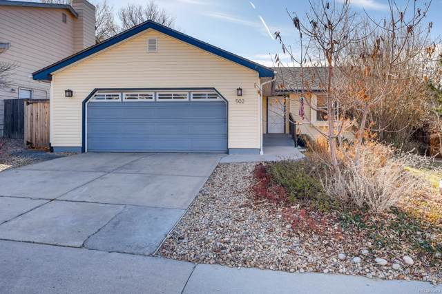 502 Southpark Road, Highlands Ranch, CO 80126 (#3682464) :: Arnie Stein Team | RE/MAX Masters Millennium