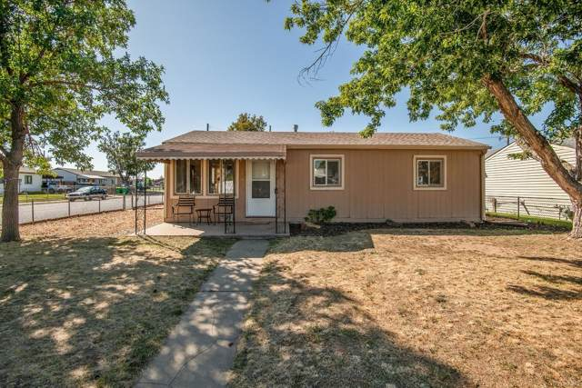 6196 E 60th Place, Commerce City, CO 80022 (#3691409) :: The DeGrood Team