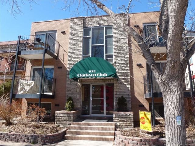1063 Clarkson Street #2, Denver, CO 80218 (#3693229) :: The HomeSmiths Team - Keller Williams