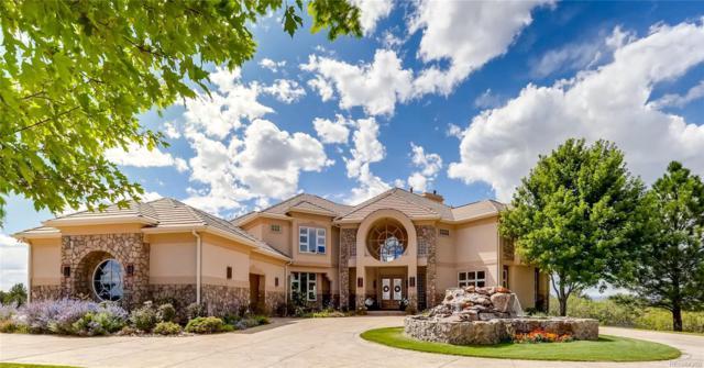 1275 Castle Pointe Drive, Castle Rock, CO 80104 (#3695005) :: The Peak Properties Group