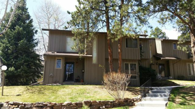 2308 Hearth Drive #39, Evergreen, CO 80439 (#3698271) :: The Griffith Home Team