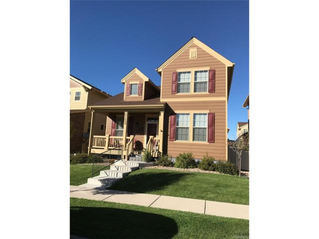 21755 E Tallkid Avenue, Parker, CO 80138 (#3699039) :: The Griffith Home Team