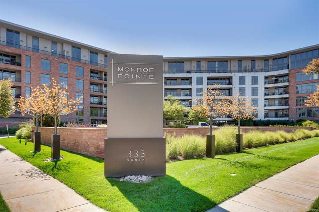 333 S Monroe Street #408, Denver, CO 80209 (MLS #3701471) :: The Space Agency - Northern Colorado Team