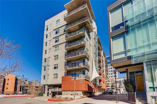 1475 Delgany Street #710, Denver, CO 80202 (MLS #3705773) :: Kittle Real Estate