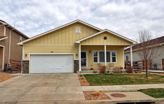 219 Valley Avenue, Lochbuie, CO 80603 (#3707729) :: House Hunters Colorado