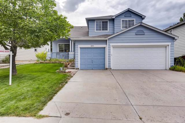 8495 Bluegrass Circle, Parker, CO 80134 (#3708279) :: The Heyl Group at Keller Williams