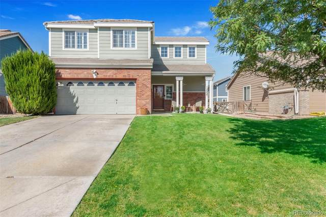 14937 E 116th Drive, Commerce City, CO 80603 (#3709274) :: The DeGrood Team