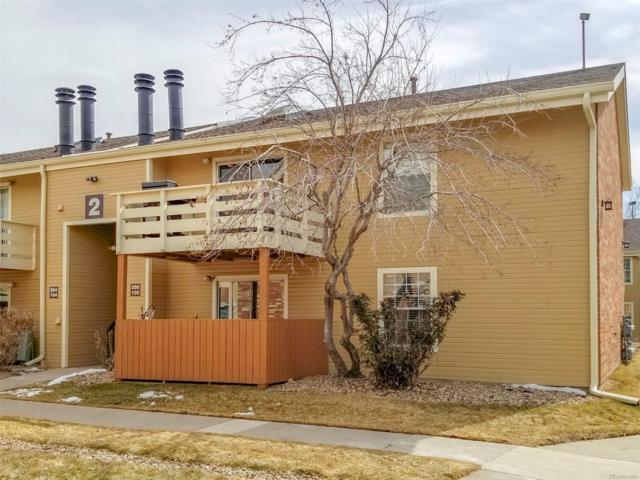 10251 W 44th Avenue #105, Wheat Ridge, CO 80033 (#3711113) :: The Peak Properties Group