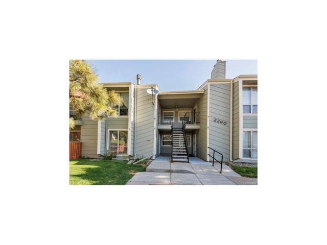 2290 E Fremont Avenue B18, Centennial, CO 80122 (#3711748) :: Aspen Real Estate