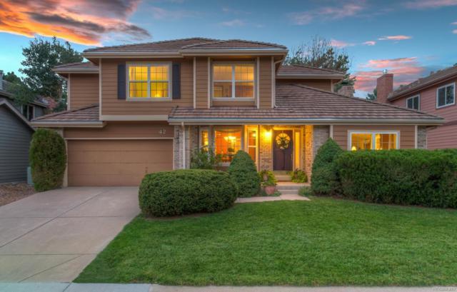 42 Pin Oak Drive, Littleton, CO 80127 (#3713670) :: House Hunters Colorado