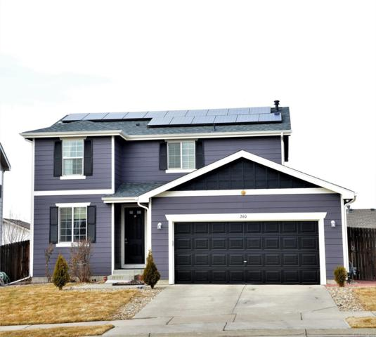 260 Bonanza Drive, Erie, CO 80516 (#3714193) :: The Heyl Group at Keller Williams