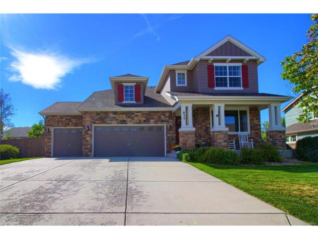 655 Sanborne Street, Castle Rock, CO 80104 (#3714399) :: The Sold By Simmons Team