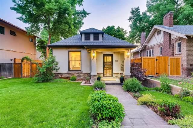 585 S Emerson Street, Denver, CO 80209 (MLS #3716806) :: Stephanie Kolesar