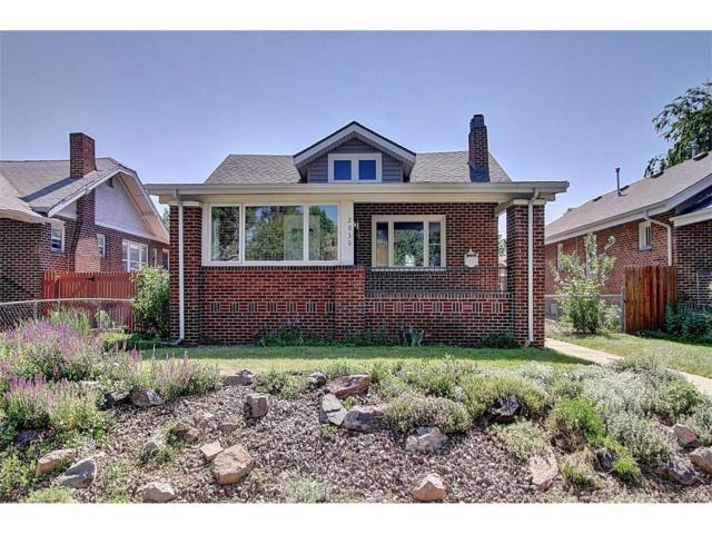 2830 Dahlia Street, Denver, CO 80207 (#3717131) :: Wisdom Real Estate