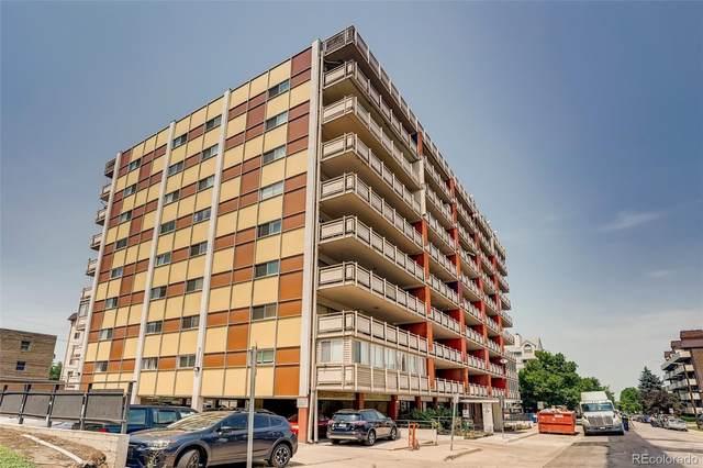 1121 Albion Street #509, Denver, CO 80220 (#3718696) :: Finch & Gable Real Estate Co.
