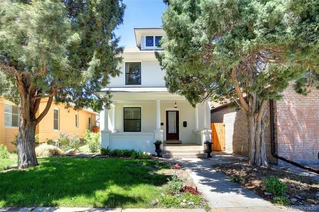 321 S Downing Street, Denver, CO 80209 (#3719245) :: Portenga Properties