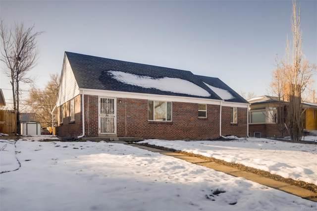 2865 Elm Street, Denver, CO 80207 (MLS #3720547) :: 8z Real Estate