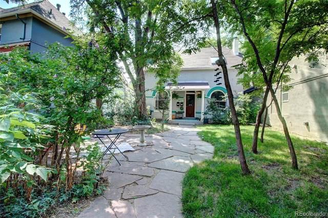 2077 N Ogden Street, Denver, CO 80205 (#3720836) :: iHomes Colorado