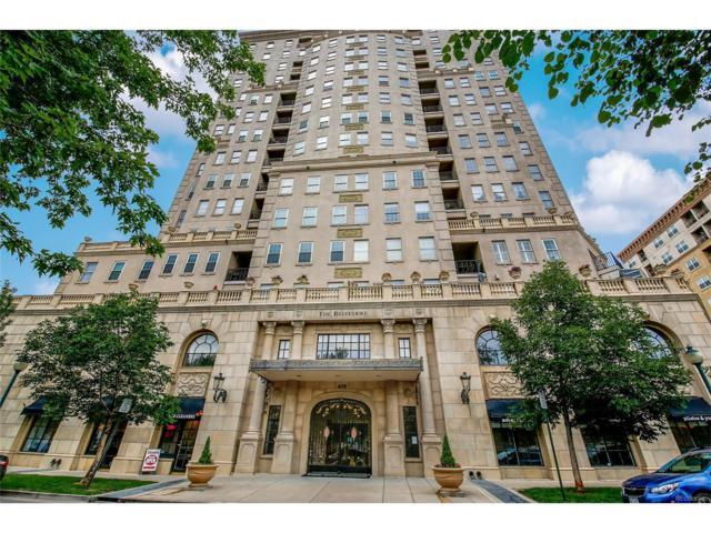 475 W 12th Avenue 9C, Denver, CO 80204 (MLS #3722718) :: 8z Real Estate