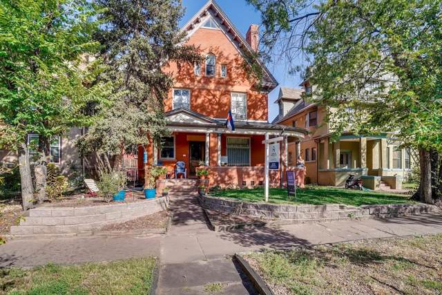1136 N Logan Street #9, Denver, CO 80203 (MLS #3725969) :: 8z Real Estate