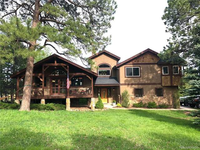 2989 Olympia Circle, Evergreen, CO 80439 (#3726203) :: The Peak Properties Group