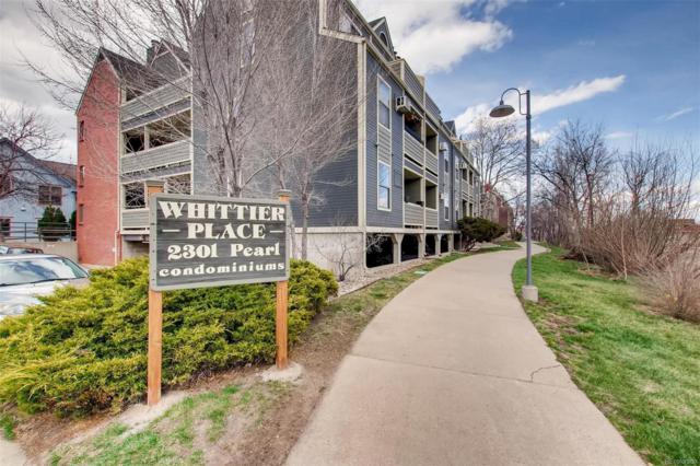 2301 Pearl Street #11, Boulder, CO 80302 (#3727522) :: The Heyl Group at Keller Williams
