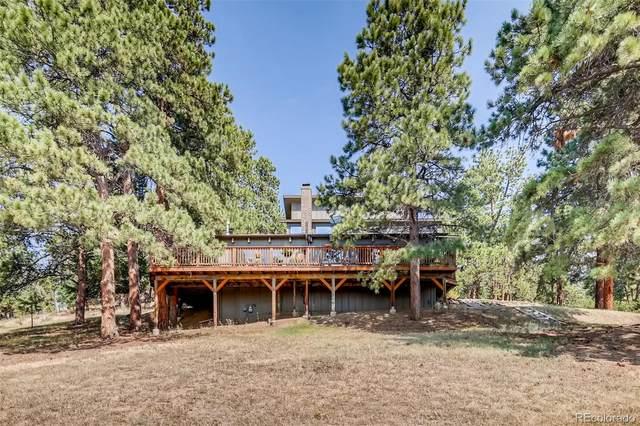 5487 Bear Mountain Drive, Evergreen, CO 80439 (#3728929) :: The DeGrood Team
