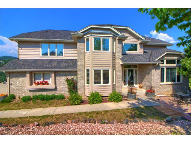 627 Monte Vista Road, Golden, CO 80401 (#3729873) :: Hometrackr Denver