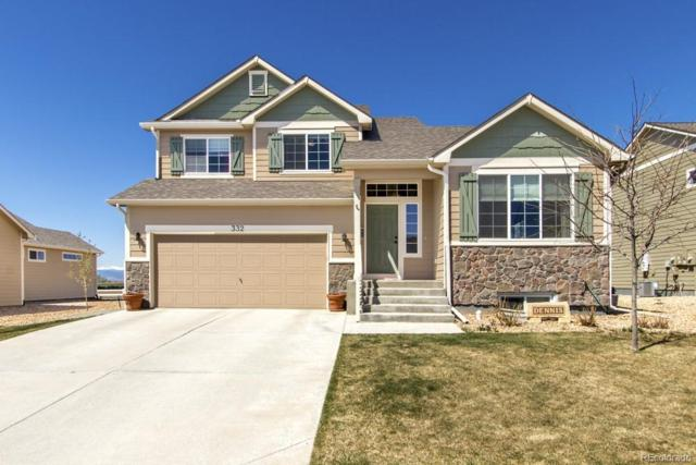 332 Sycamore Avenue, Johnstown, CO 80534 (MLS #3731428) :: Kittle Real Estate