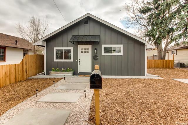 1428 Benton Street, Lakewood, CO 80214 (#3731609) :: The HomeSmiths Team - Keller Williams