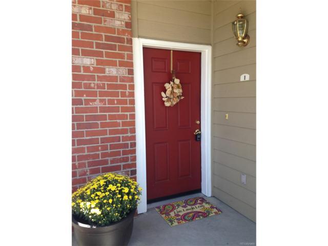 16360 E Fremont Avenue #1, Aurora, CO 80016 (MLS #3732410) :: 8z Real Estate