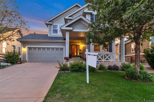922 Koss Street, Erie, CO 80516 (MLS #3733477) :: 8z Real Estate