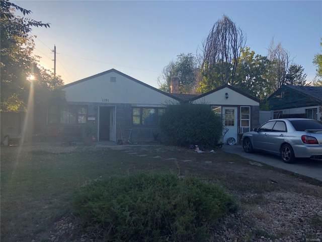 1191 S Raleigh Street, Denver, CO 80219 (#3736368) :: The HomeSmiths Team - Keller Williams