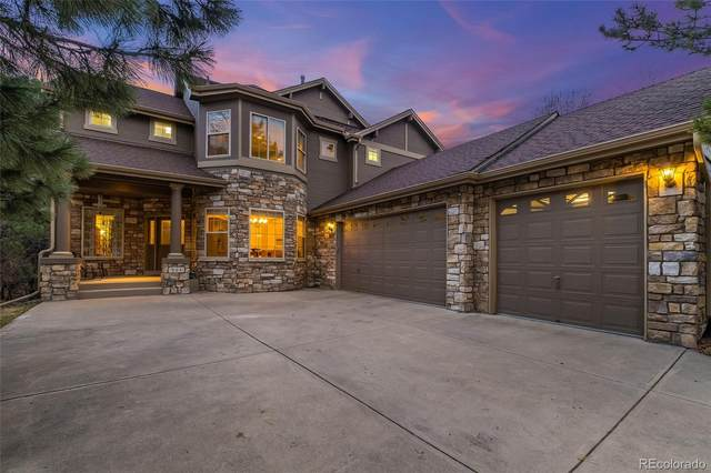 964 Greenridge Lane, Castle Pines, CO 80108 (#3737699) :: The Harling Team @ HomeSmart
