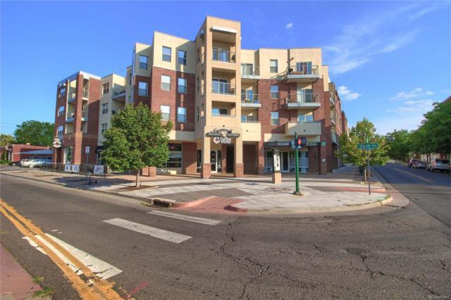2550 Washington Street #210, Denver, CO 80205 (#3747834) :: The Galo Garrido Group