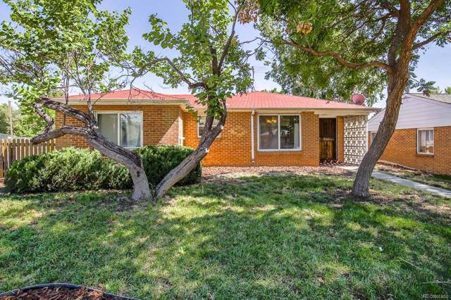 1400 S Bellaire Street, Denver, CO 80222 (#3749736) :: The Heyl Group at Keller Williams