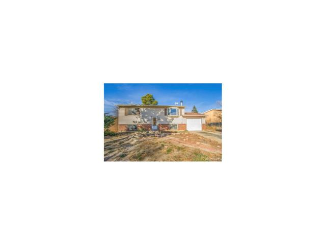 3540 Mosswood Lane, Colorado Springs, CO 80910 (#3752662) :: The Pete Cook Home Group