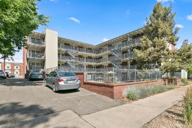 33 N Corona Street #202, Denver, CO 80218 (#3753037) :: 5281 Exclusive Homes Realty
