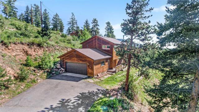 10180 Blue Sky Trail, Conifer, CO 80433 (#3753301) :: Mile High Luxury Real Estate