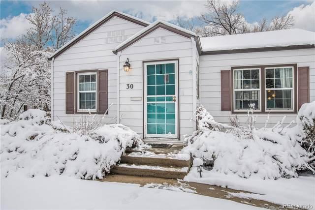 30 S Utica Street, Denver, CO 80219 (MLS #3755239) :: Kittle Real Estate