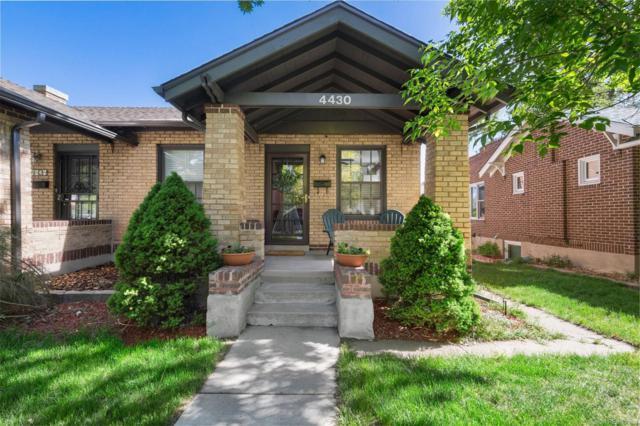 4430 W Hayward Place, Denver, CO 80212 (#3758093) :: Wisdom Real Estate