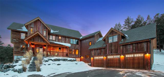 871 Hacienda Road, Evergreen, CO 80439 (MLS #3758468) :: Kittle Real Estate